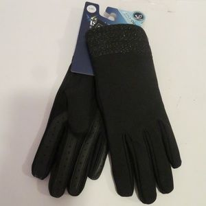 NWT ISOTONER SMART DRI SMART TOUCH GLOVES SZ L/XL*